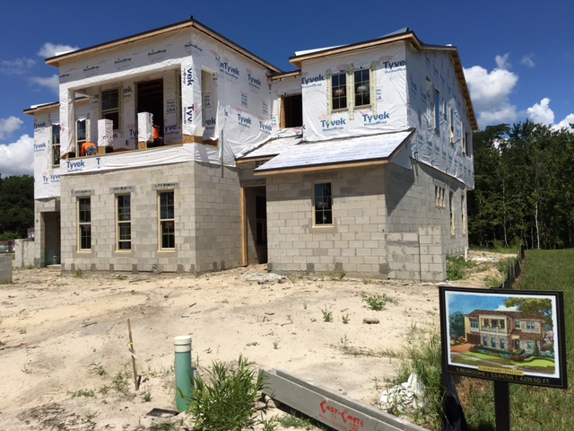 WINTER GARDEN, FL U2013 Construction Activity Is Booming At Canopy Oaks As  Almost 1/3 Of 12 Houses Is Now Under Construction Or In For Permitting.  Several Homes ...
