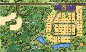 Canopy Oaks Site plan