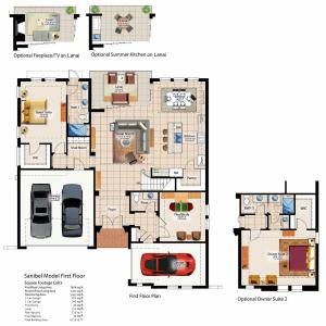 Sanibel first floor