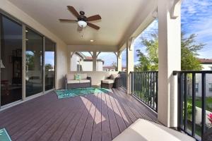 Balcony - Delray Canopy Oaks